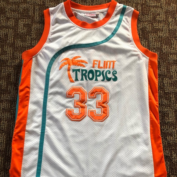 a1f06e08e41 Flint Tropics  33 Jackie Moon Jersey. M 5b6480221070ee75eb57a7bd